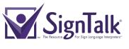 SignTalk Purple